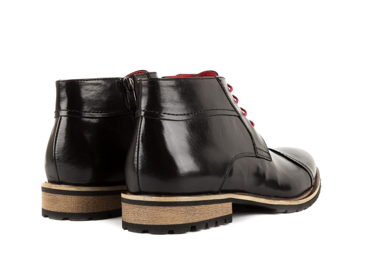 Trzewiki bayla-122 at229-1 black, czarny, skóra naturalna - obuwie wizytowe - dla niego - sale 9
