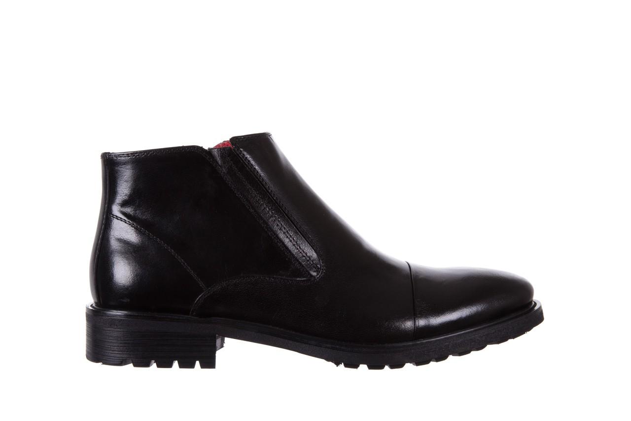 Trzewiki bayla-122 at229-6 black, czarny, skóra naturalna  - trzewiki - buty męskie - mężczyzna 7
