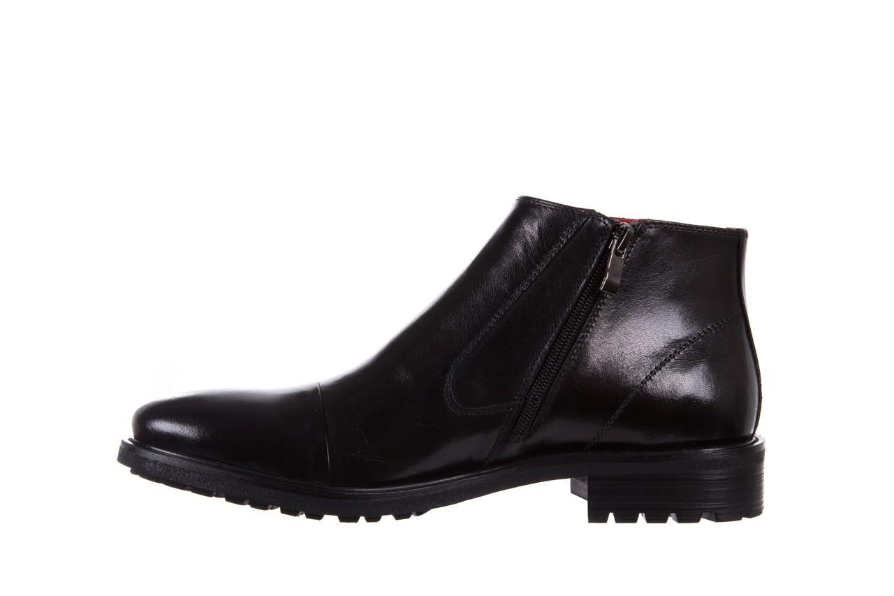 Trzewiki bayla-122 at229-6 black, czarny, skóra naturalna  - trzewiki - buty męskie - mężczyzna 9