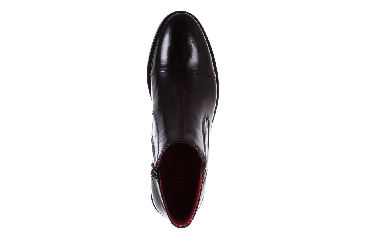 Trzewiki bayla-122 at229-6 black, czarny, skóra naturalna  - trzewiki - buty męskie - mężczyzna 11
