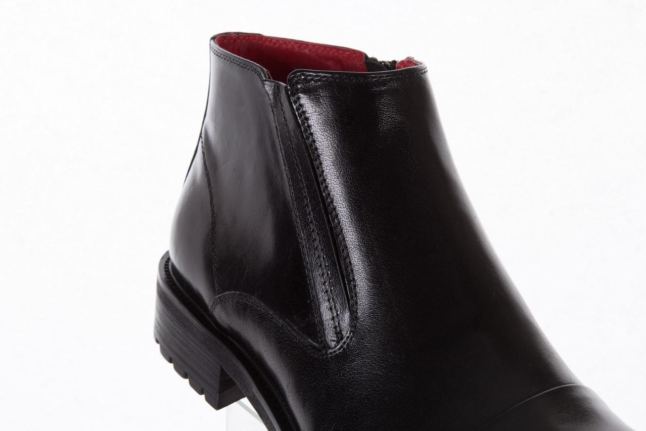 Trzewiki bayla-122 at229-6 black, czarny, skóra naturalna  - trzewiki - buty męskie - mężczyzna 12