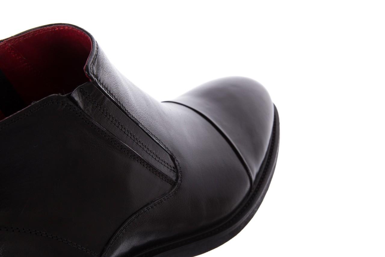 Trzewiki bayla-122 at229-6 black, czarny, skóra naturalna  - trzewiki - buty męskie - mężczyzna 13