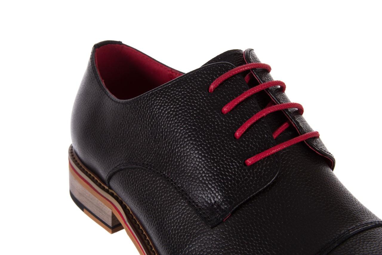 Półbuty bayla-122 at365-2 black, czarny, skóra naturalna  - obuwie wizytowe - buty męskie - mężczyzna 12