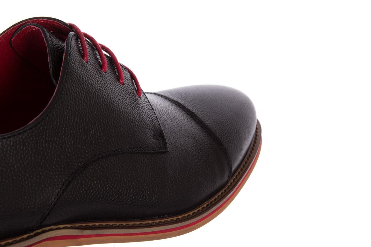Półbuty bayla-122 at365-2 black, czarny, skóra naturalna  - obuwie wizytowe - buty męskie - mężczyzna 13