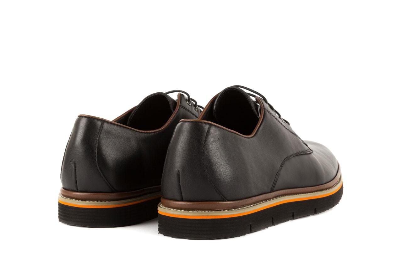 Półbuty bayla-122 at735-1 black, czarny, skóra naturalna - bayla - nasze marki 9