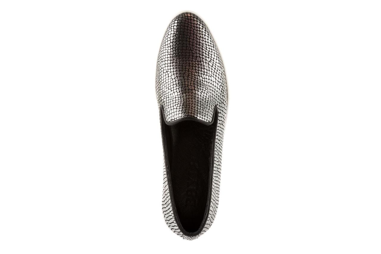 Trampki bayla-123 5500101-2 silver snake, srebrny, skóra naturalna - bayla - nasze marki 10
