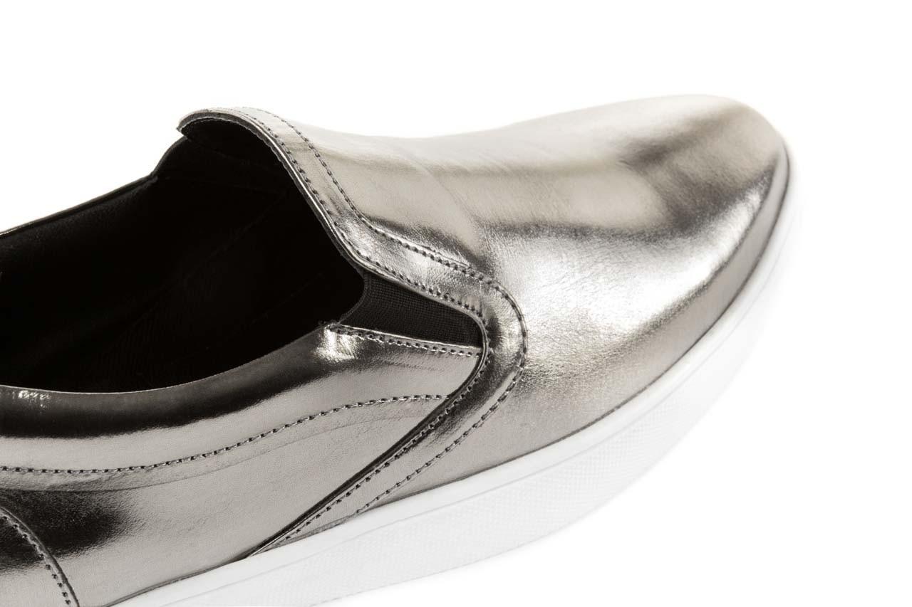 Trampki bayla-123 5500126 platinum, srebrny, skóra naturalna - bayla - nasze marki 11