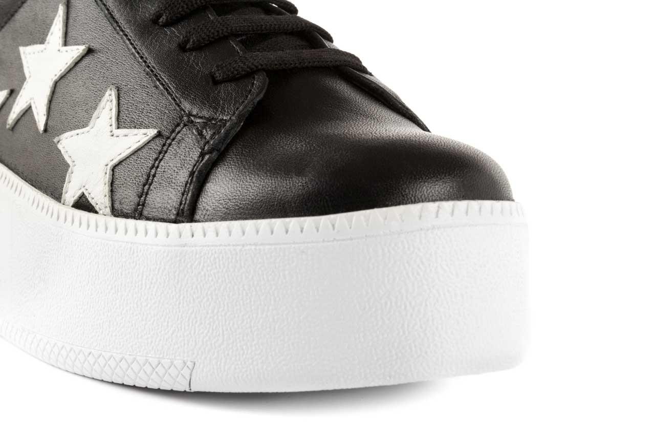 Trampki bayla-123 5502102 black, czarny, skóra naturalna - bayla - nasze marki 11