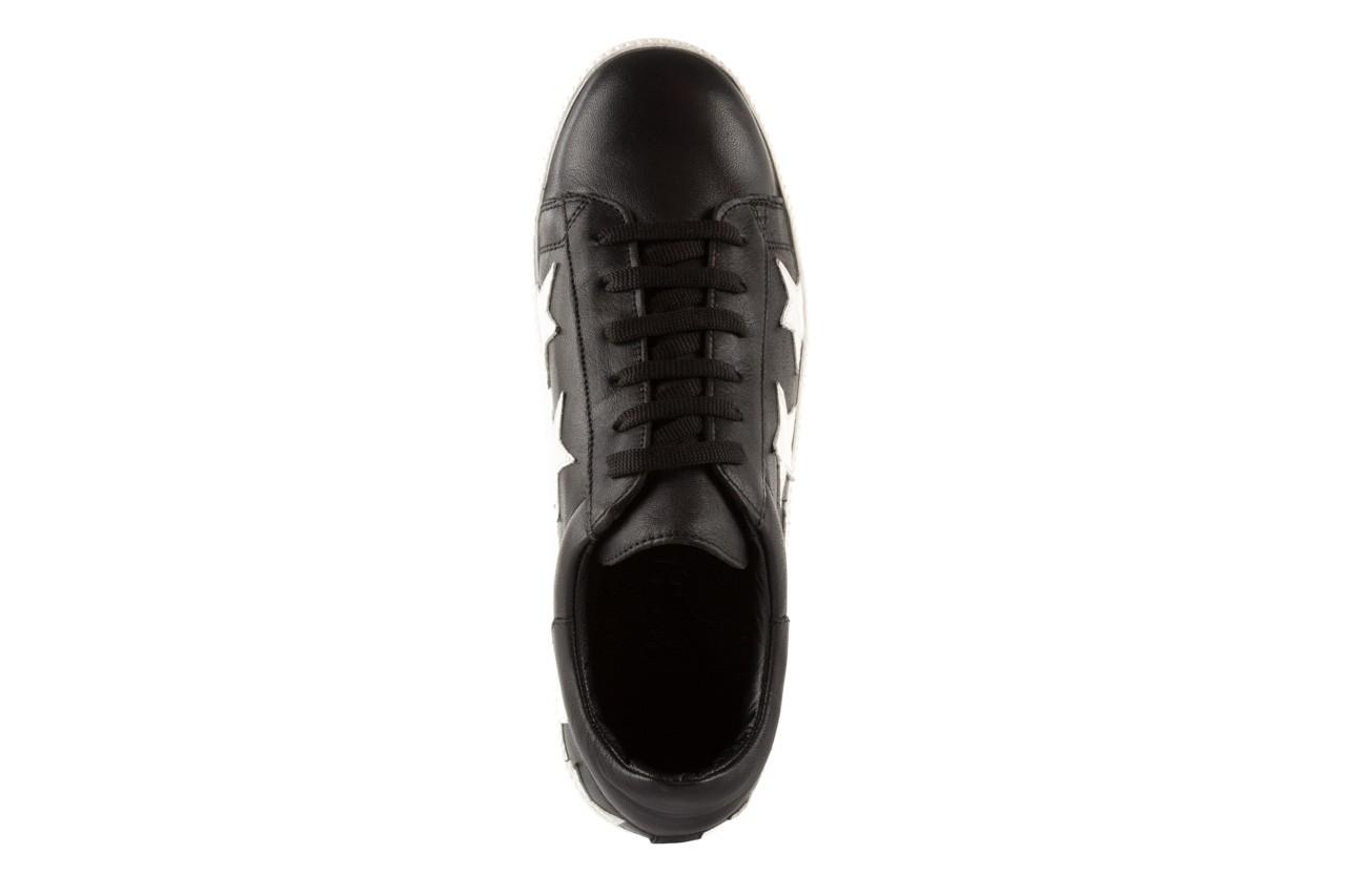Trampki bayla-123 5502102 black, czarny, skóra naturalna - bayla - nasze marki 10