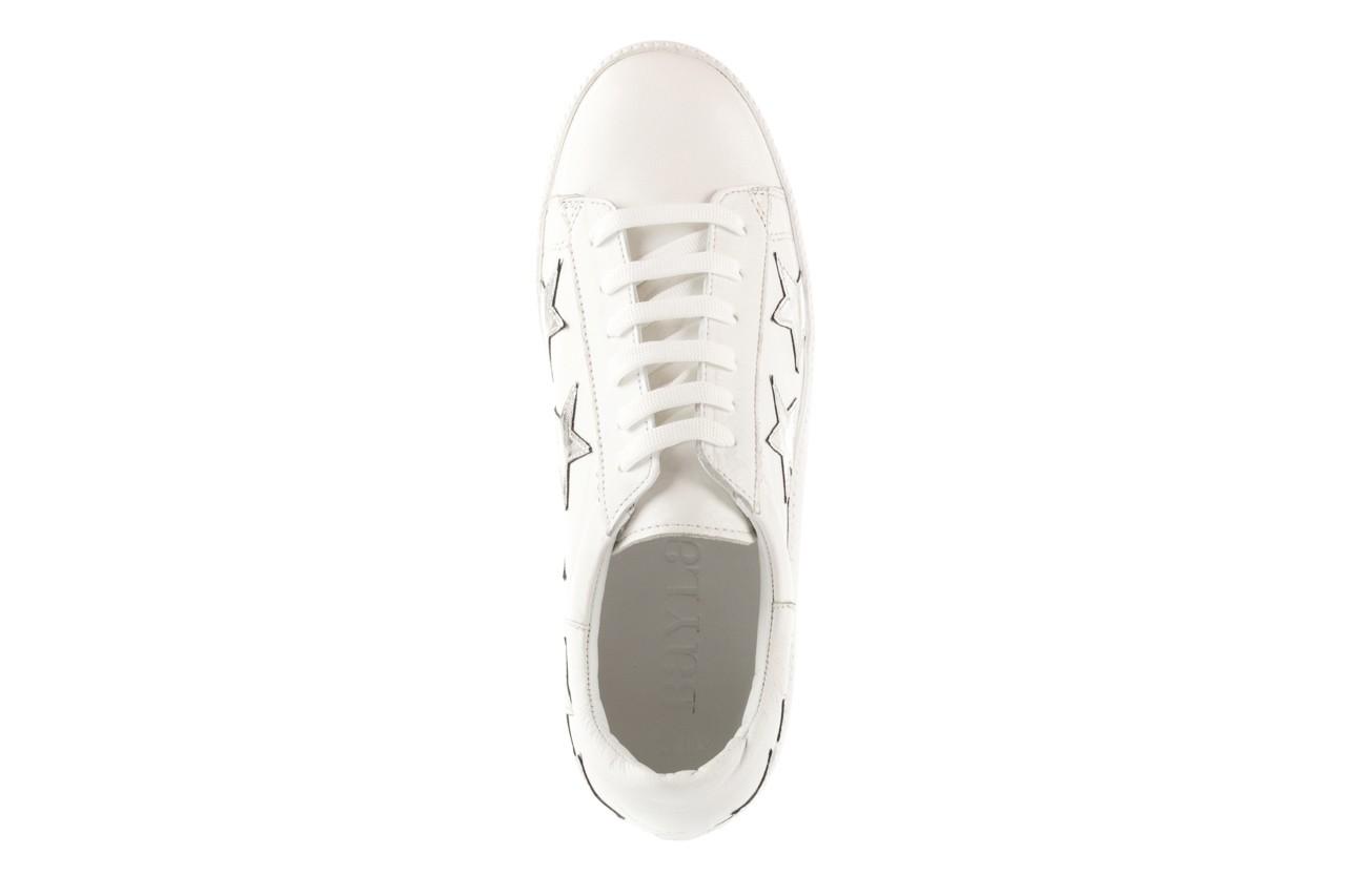 Trampki bayla-123 5502102 white, biały, skóra naturalna - skórzane - trampki - buty damskie - kobieta 10
