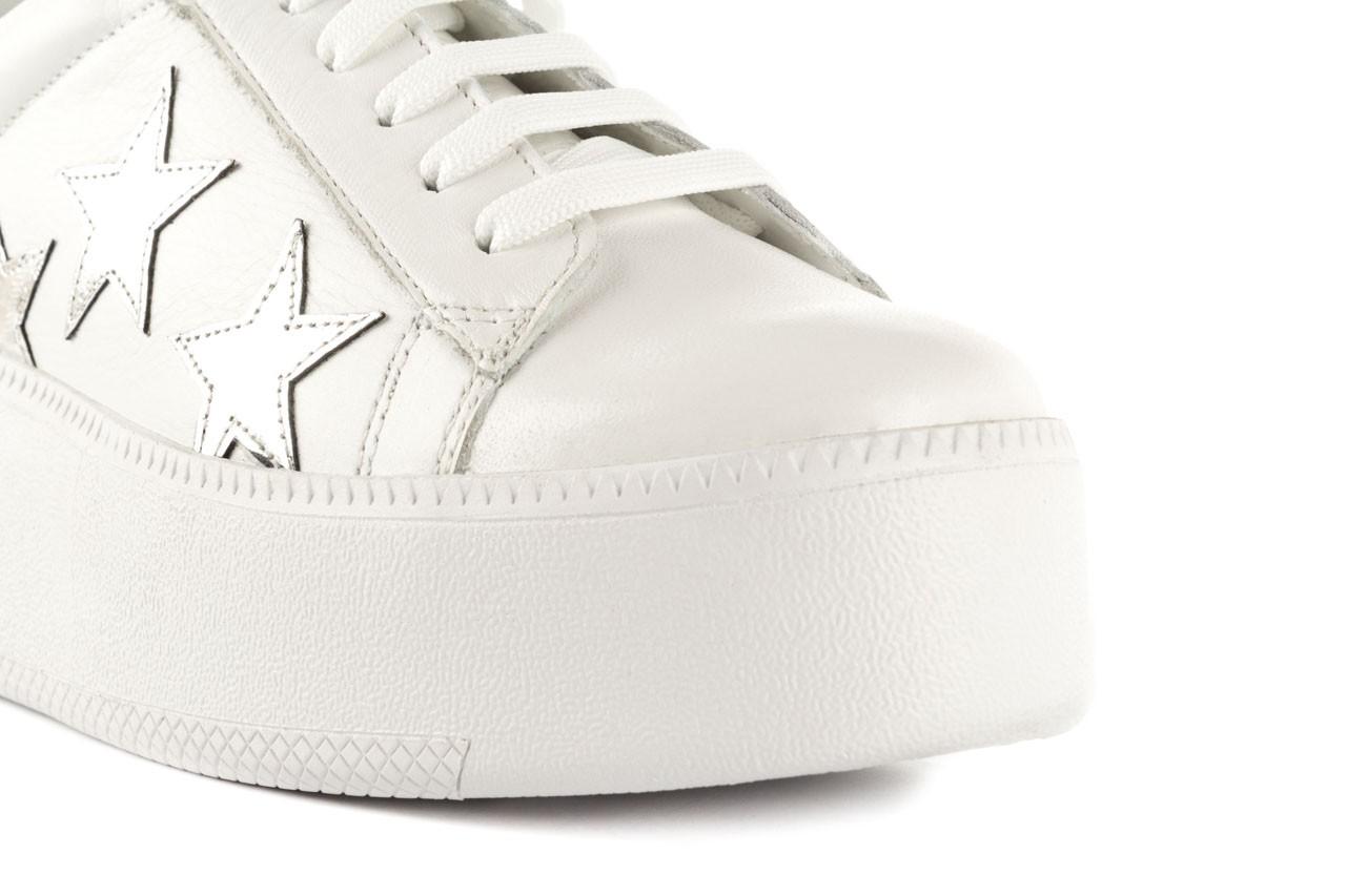 Trampki bayla-123 5502102 white, biały, skóra naturalna - skórzane - trampki - buty damskie - kobieta 11