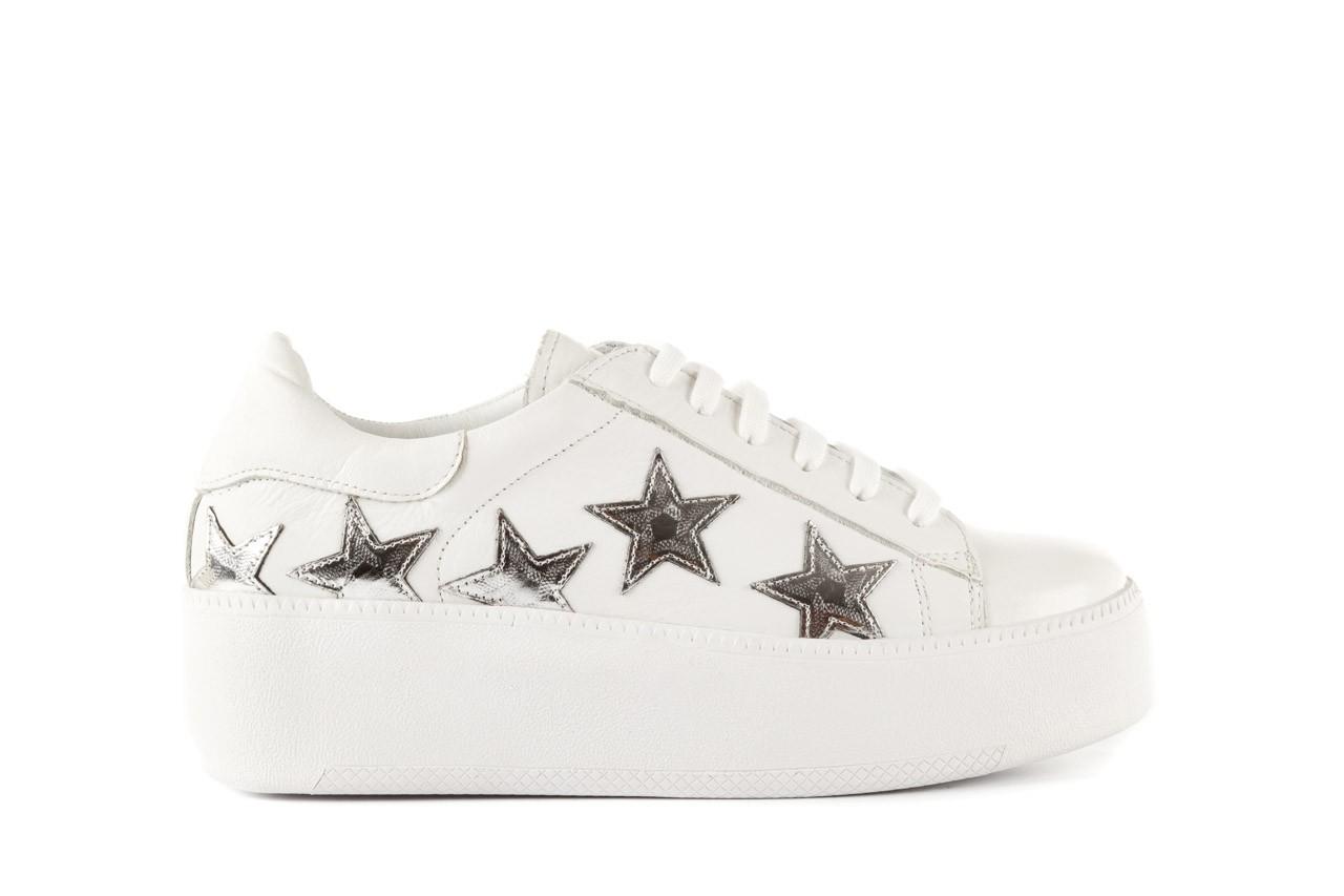 Trampki bayla-123 5502102 white, biały, skóra naturalna - skórzane - trampki - buty damskie - kobieta 6