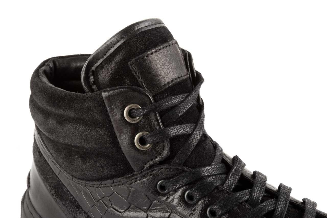 Trampki bayla-124 395 black, czarny, skóra naturalna - bayla - nasze marki 11