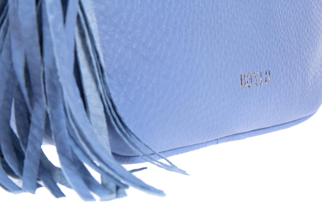 Torebka bayla-125 skórzana listonoszka napoli niebieska, skóra naturalna  - bayla - nasze marki 7