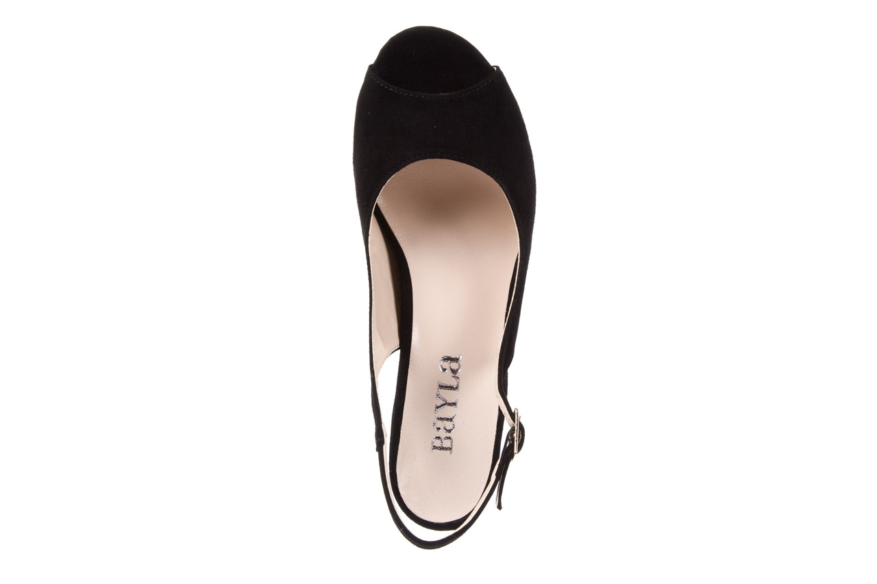 Sandały bayla-128 1995 147 czarny, skóra naturalna  - bayla - nasze marki 10