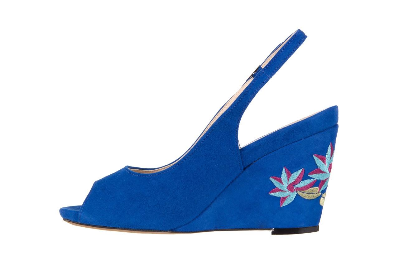 Sandały bayla-128 1995 956 niebieski, skóra naturalna  - bayla - nasze marki 8