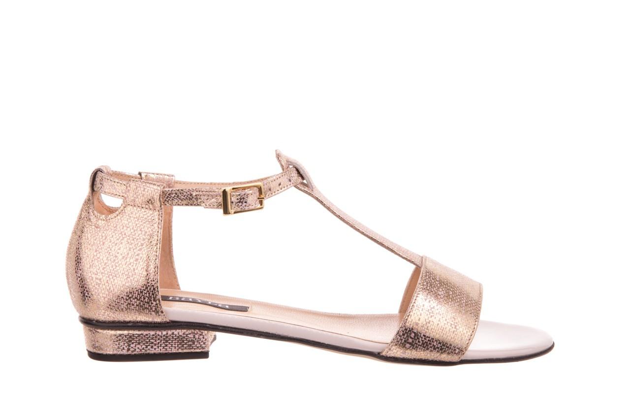 Sandały bayla-130 03876 0106-13 róż złocony 130023, skóra naturalna  - sandały - dla niej - dodatkowe -10% 5
