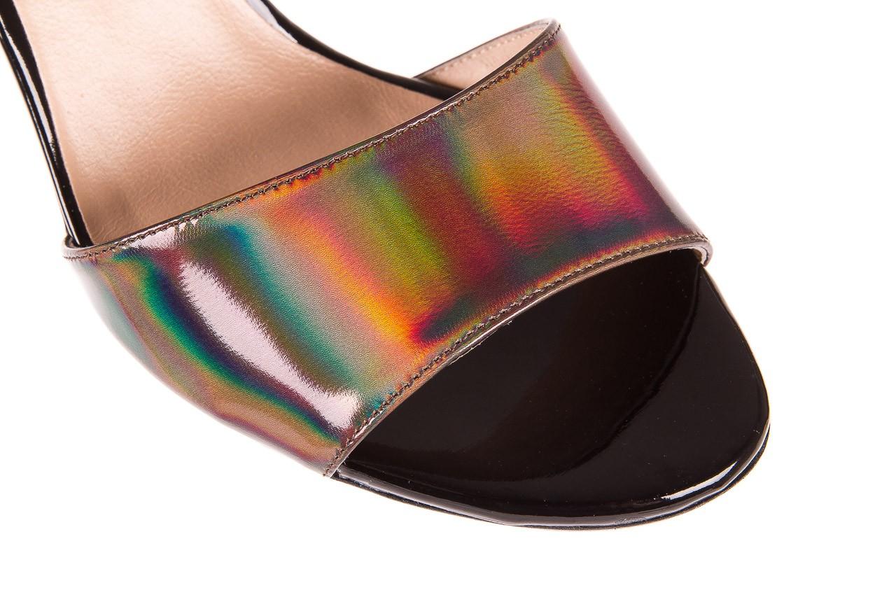 Sandały bayla-130 04322-0124-06 czarny l, skóra naturalna lakierowana  - bayla - nasze marki 11