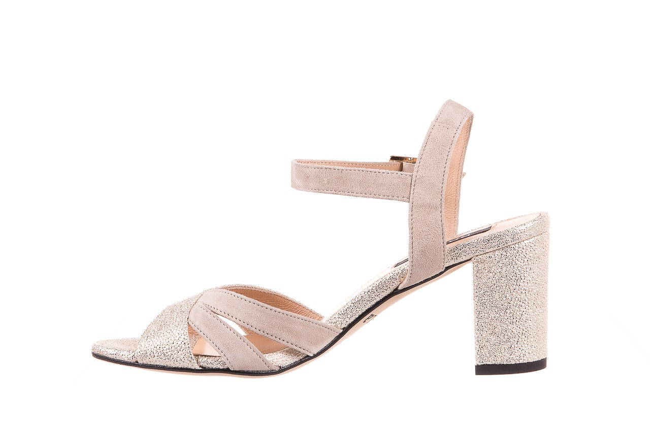 Sandały bayla-130 04347-0125-04 beż z, skóra naturalna  - sandały - dla niej - dodatkowe -10% 8