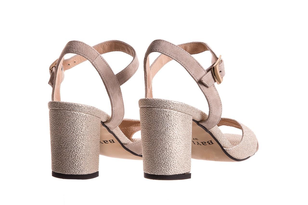 Sandały bayla-130 04347-0125-04 beż z, skóra naturalna  - sandały - dla niej - dodatkowe -10% 9