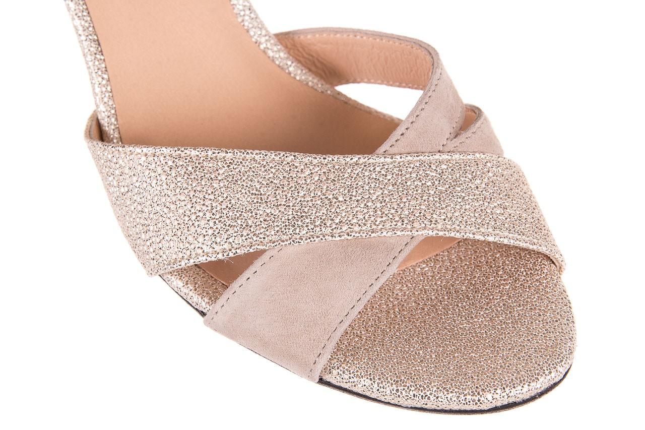 Sandały bayla-130 04347-0125-04 beż z, skóra naturalna  - sandały - dla niej - dodatkowe -10% 11