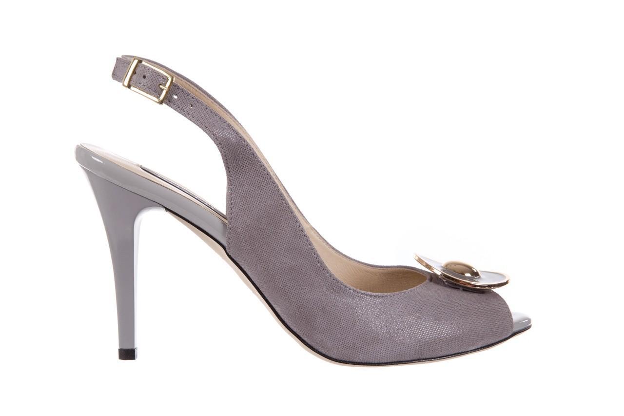 Sandały bayla-130 3899-092-910 popiel, skóra naturalna  - bayla - nasze marki 7