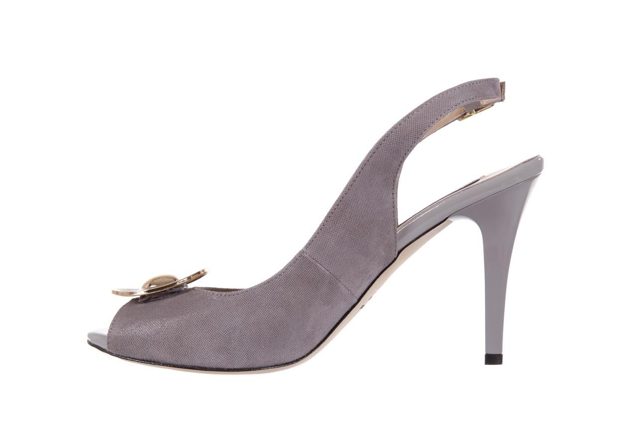 Sandały bayla-130 3899-092-910 popiel, skóra naturalna  - bayla - nasze marki 9