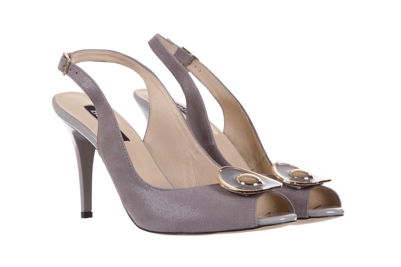 Sandały bayla-130 3899-092-910 popiel, skóra naturalna  - bayla - nasze marki 8