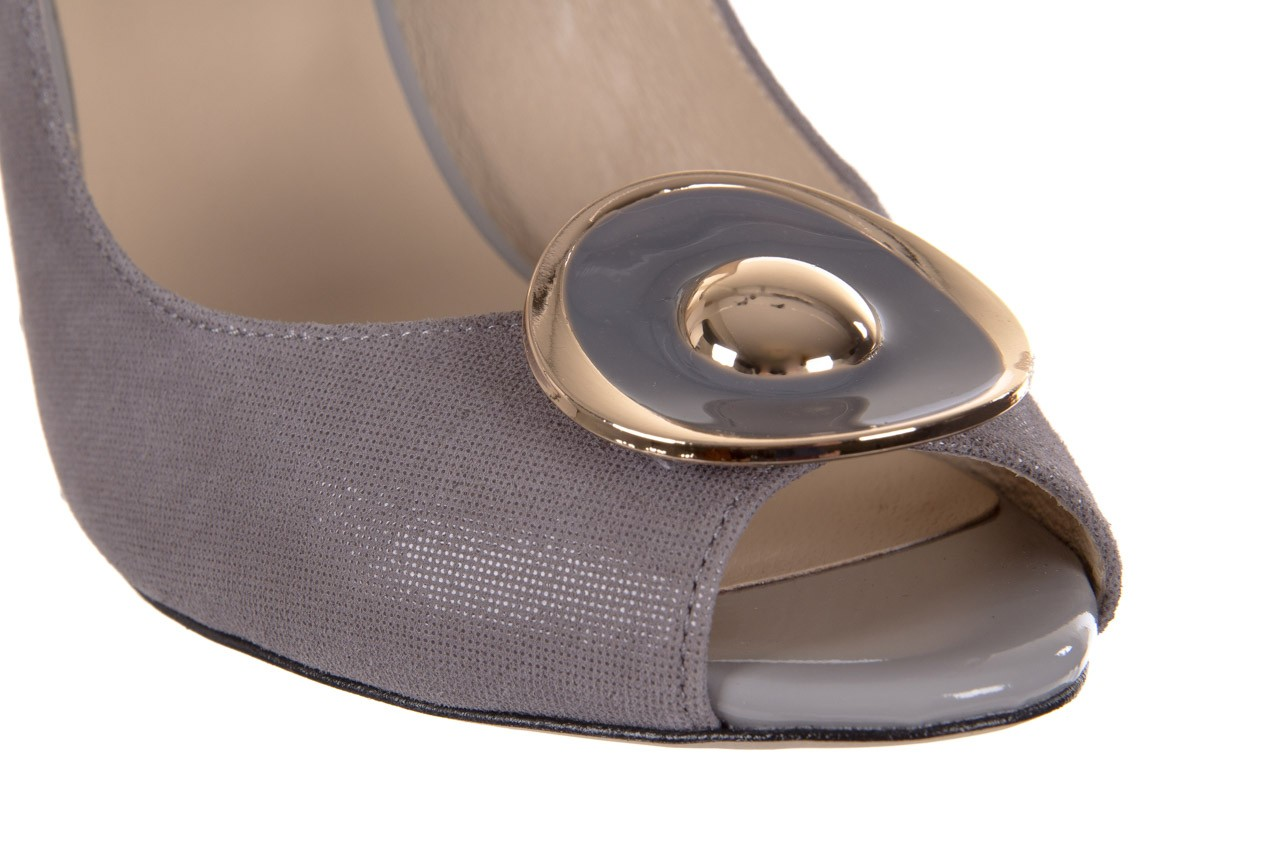 Sandały bayla-130 3899-092-910 popiel, skóra naturalna  - bayla - nasze marki 12
