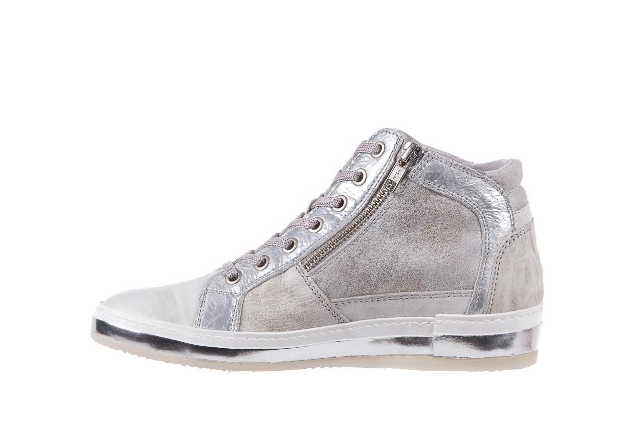 Sneakersy bayla-131 1219 zinco, szary, skóra naturalna  - obuwie sportowe - dla niej - dodatkowe -10% 8