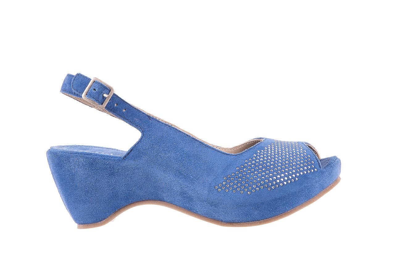 Sandały bayla-131 2507 cobalto, niebieski, skóra naturalna  - bayla - nasze marki 6
