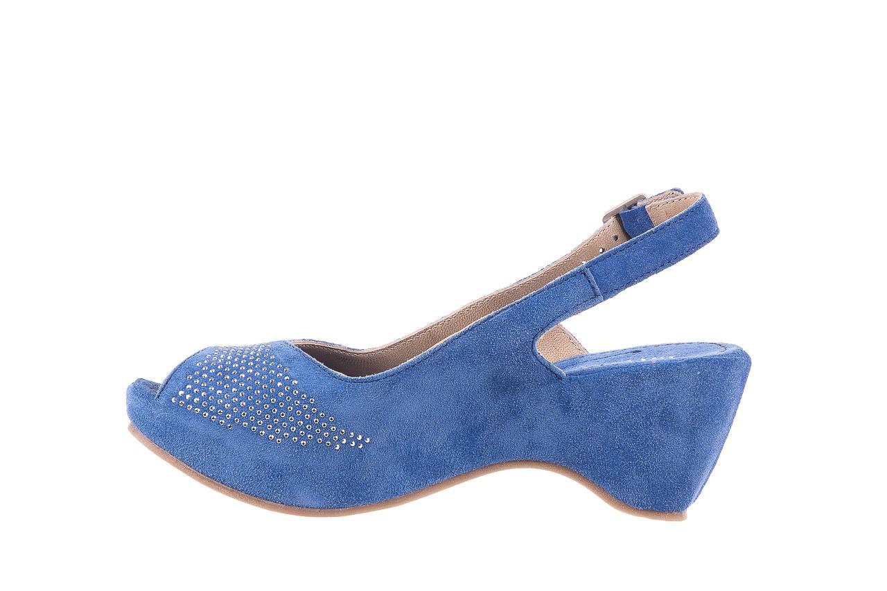 Sandały bayla-131 2507 cobalto, niebieski, skóra naturalna  - bayla - nasze marki 8