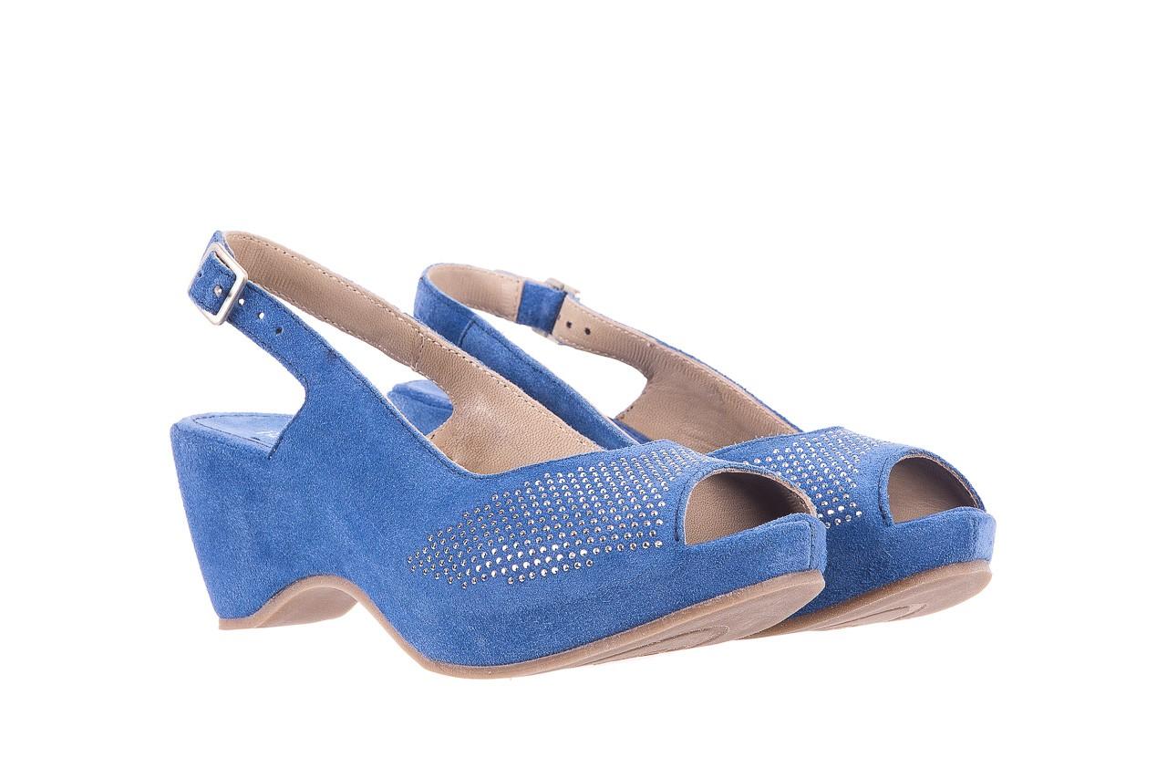Sandały bayla-131 2507 cobalto, niebieski, skóra naturalna  - bayla - nasze marki 7