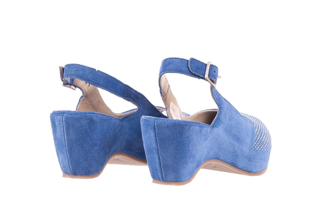 Sandały bayla-131 2507 cobalto, niebieski, skóra naturalna  - bayla - nasze marki 9