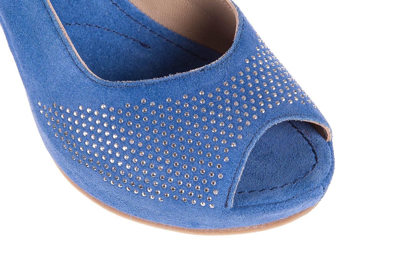 Sandały bayla-131 2507 cobalto, niebieski, skóra naturalna  - bayla - nasze marki 11