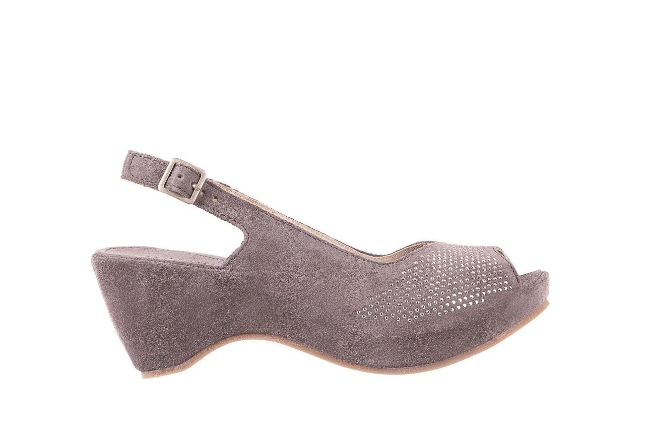 Sandały bayla-131 2507 grigio, szary, skóra naturalna  - bayla - nasze marki 6