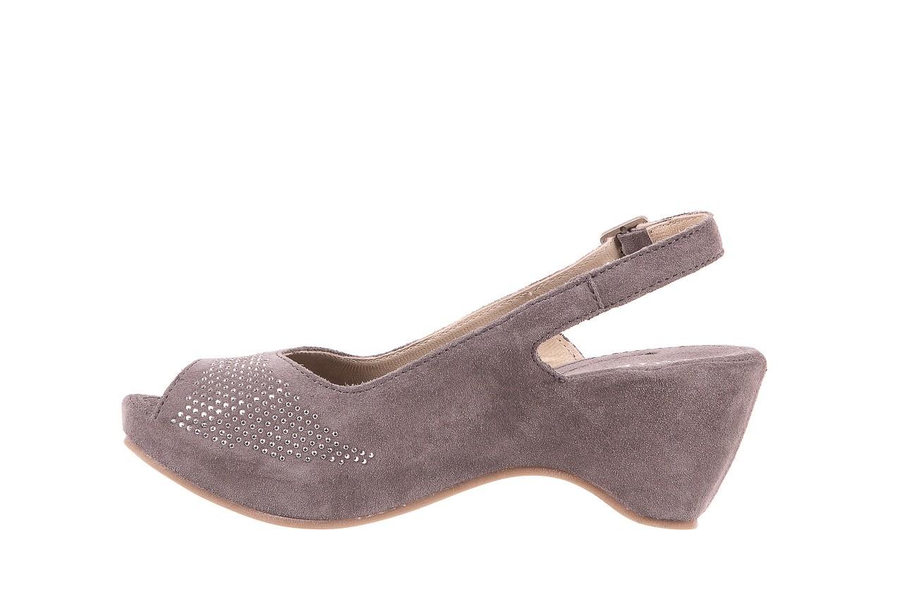 Sandały bayla-131 2507 grigio, szary, skóra naturalna  - bayla - nasze marki 8
