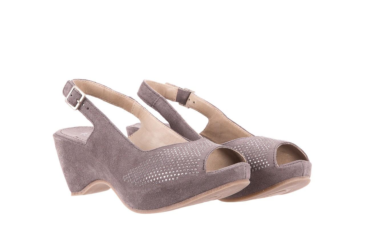 Sandały bayla-131 2507 grigio, szary, skóra naturalna  - bayla - nasze marki 7