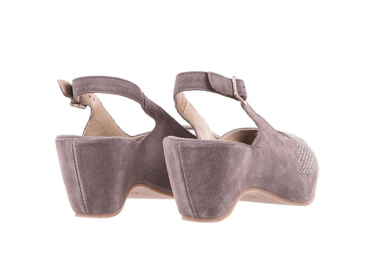 Sandały bayla-131 2507 grigio, szary, skóra naturalna  - bayla - nasze marki 9