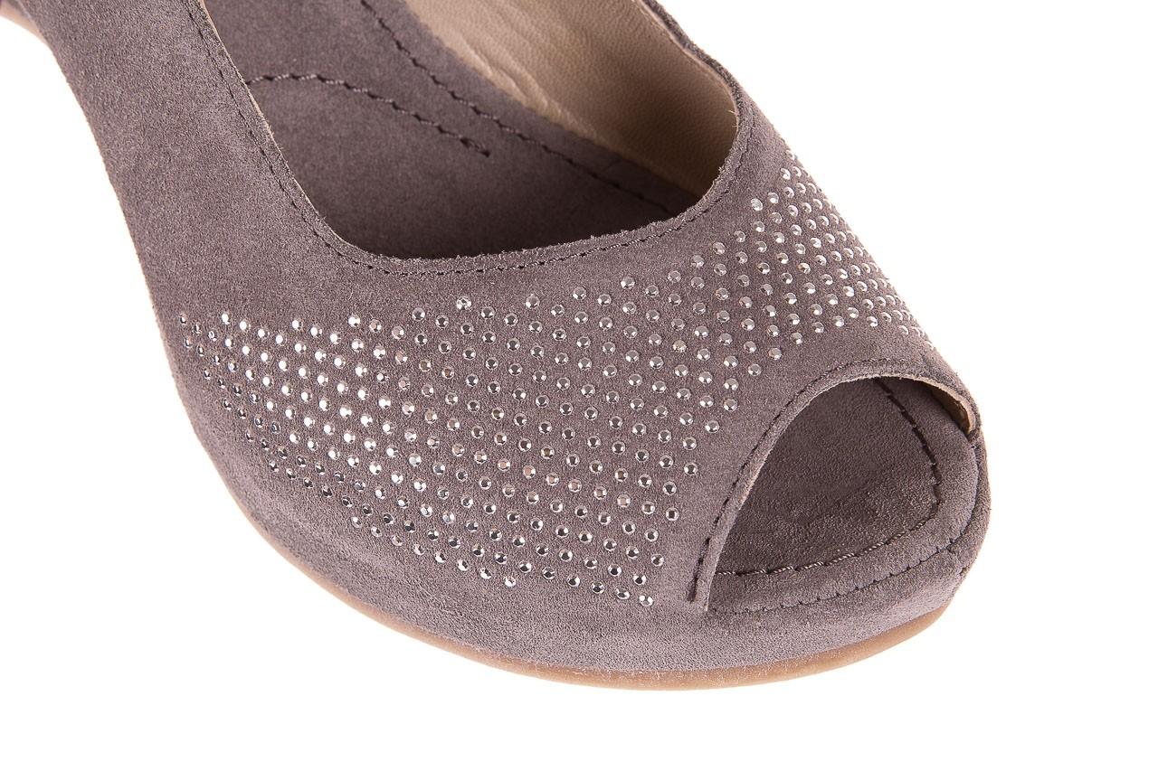 Sandały bayla-131 2507 grigio, szary, skóra naturalna  - bayla - nasze marki 11
