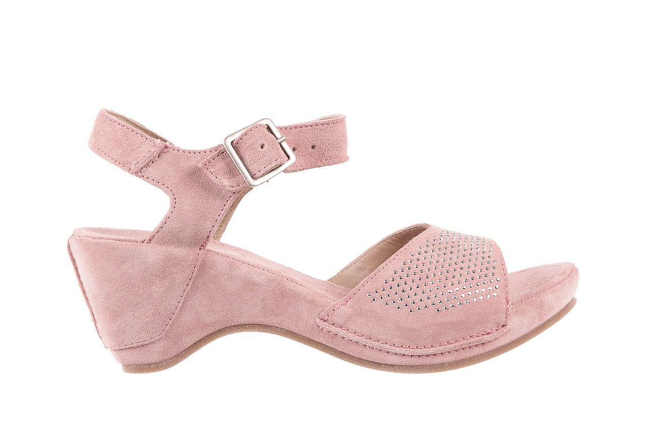 Sandały bayla-131 2508 cipria, róż, skóra naturalna  - bayla - nasze marki 6