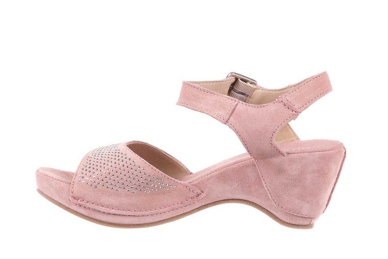Sandały bayla-131 2508 cipria, róż, skóra naturalna  - bayla - nasze marki 8