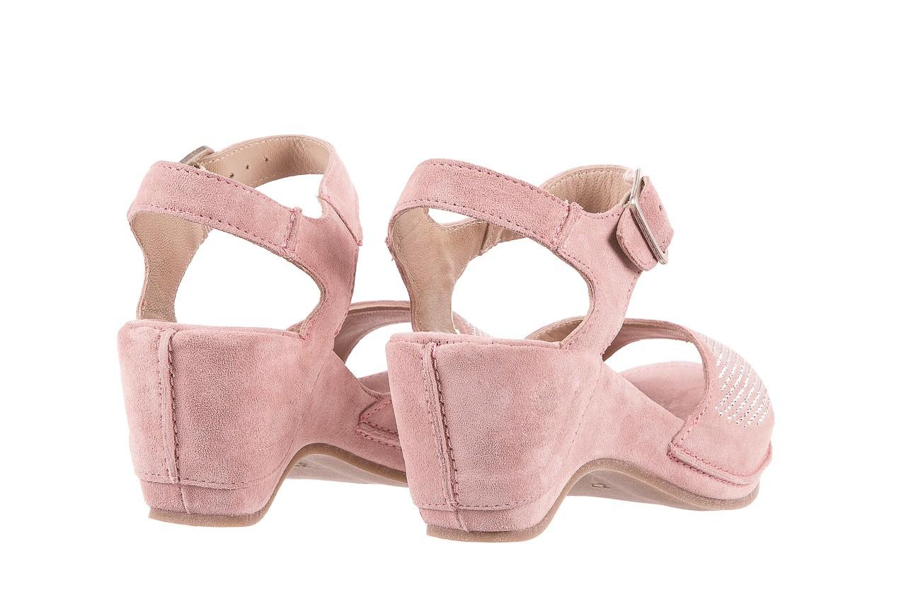 Sandały bayla-131 2508 cipria, róż, skóra naturalna  - bayla - nasze marki 9