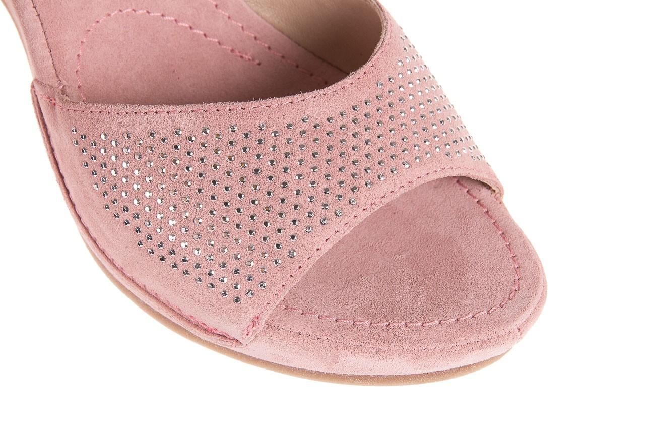 Sandały bayla-131 2508 cipria, róż, skóra naturalna  - bayla - nasze marki 11