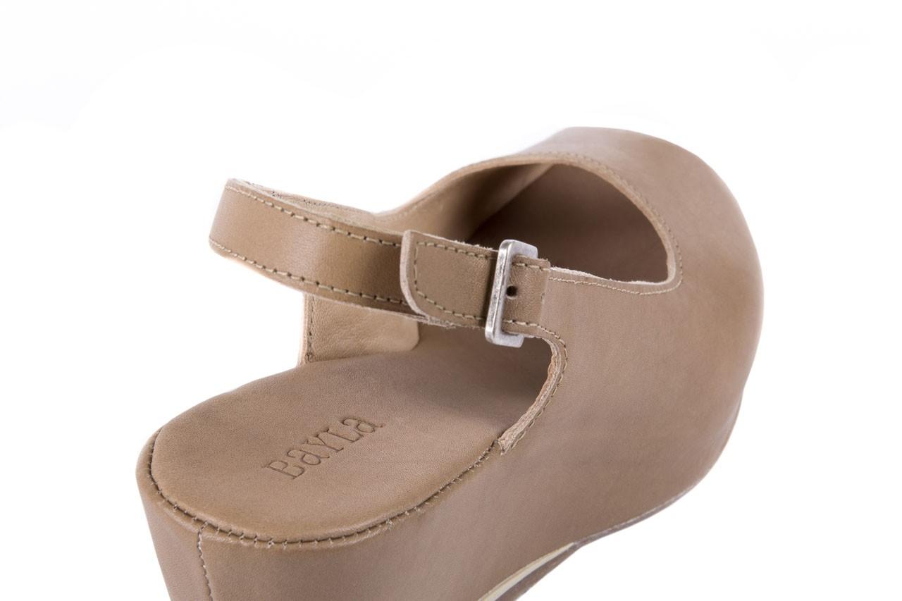 Sandały bayla-131 2705 dune , beż, skóra naturalna - na platformie - sandały - buty damskie - kobieta 11