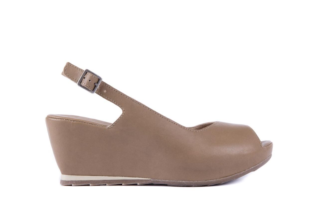 Sandały bayla-131 2705 dune , beż, skóra naturalna - na platformie - sandały - buty damskie - kobieta 6