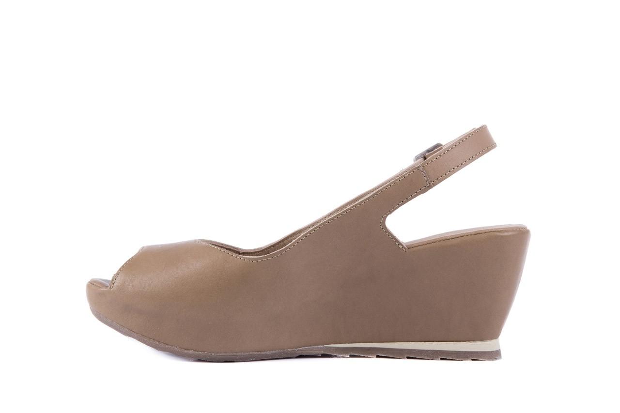 Sandały bayla-131 2705 dune , beż, skóra naturalna - na platformie - sandały - buty damskie - kobieta 8
