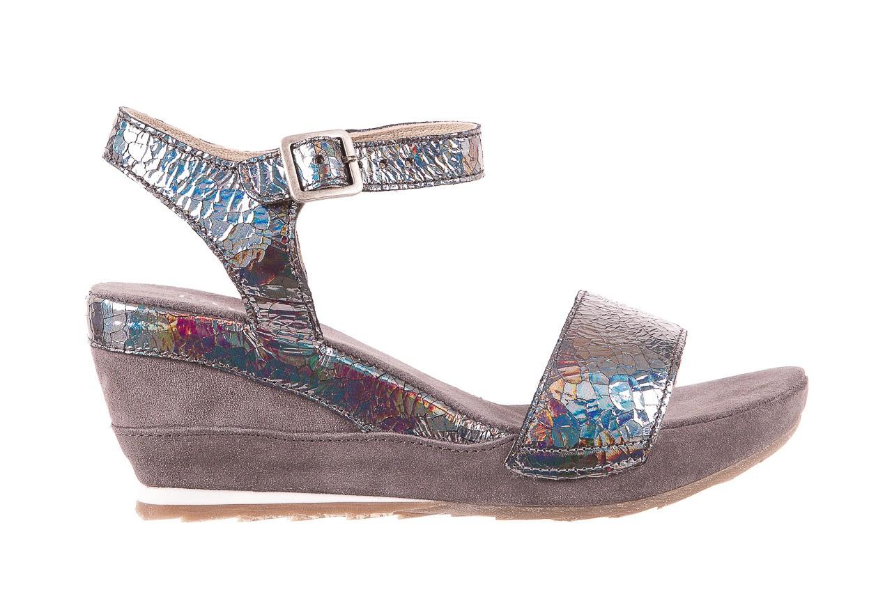 Sandały bayla-131 2711 fucile, szary, skóra naturalna  - sandały - dla niej - dodatkowe -10% 6