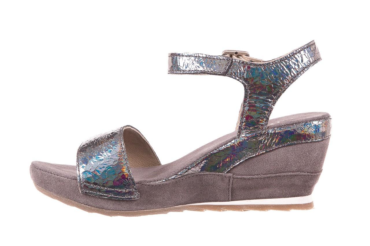 Sandały bayla-131 2711 fucile, szary, skóra naturalna  - sandały - dla niej - dodatkowe -10% 8