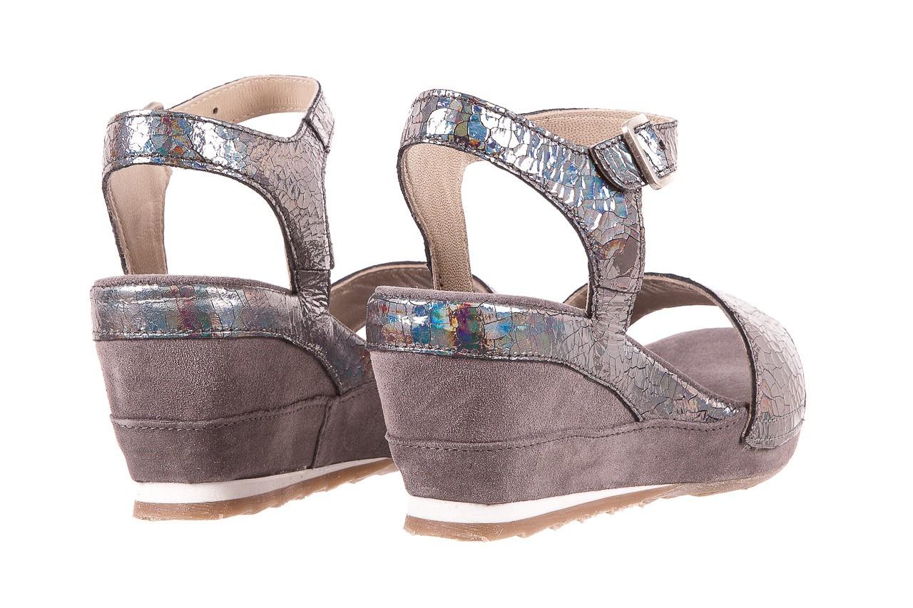 Sandały bayla-131 2711 fucile, szary, skóra naturalna  - sandały - dla niej - dodatkowe -10% 9